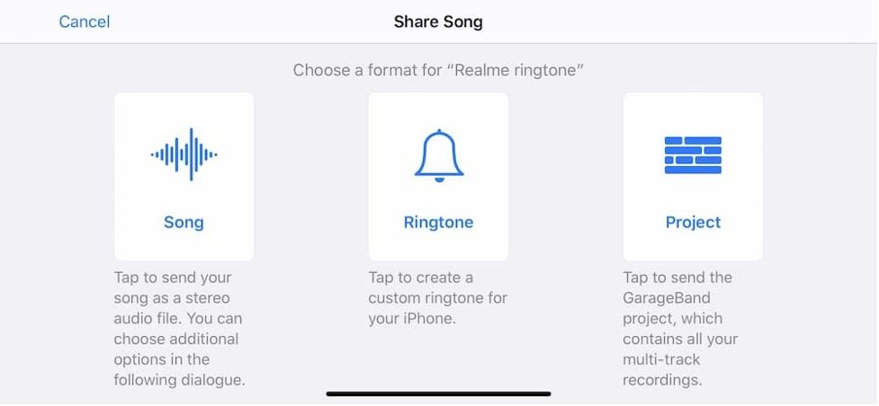 set ringtone on iPhone without iTunes 10